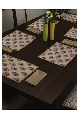 SWAYAMPrinted Place Mat And Napkin Set Of 12 - 204600000_9126