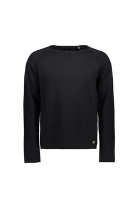 JACK AND JONES Mens Round Neck Solid Sweatshirt