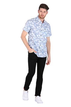 Mens Camouflage Casual Shirt