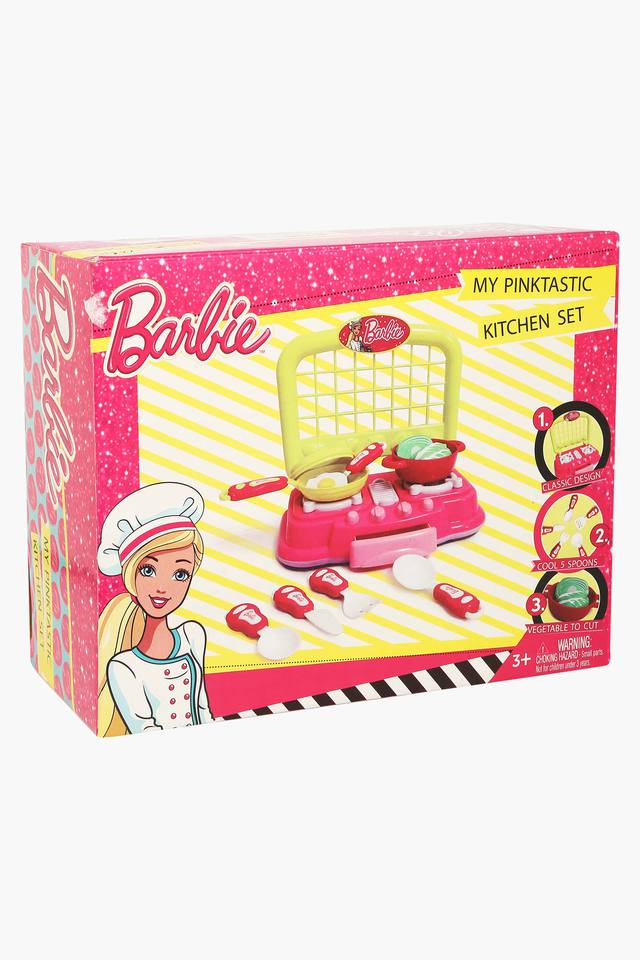 Girls Pinktastic Kitchen Play Toy Set