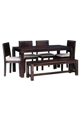 Brown Ann Dining Set