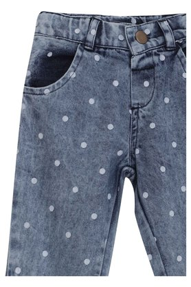 Kids Printed Woven Jeans
