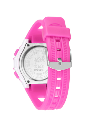 Girls Plastic Digital Watch - KK210PK