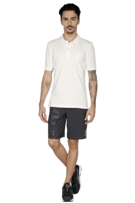 Mens Short Sleeve Solid Polo T-Shirt
